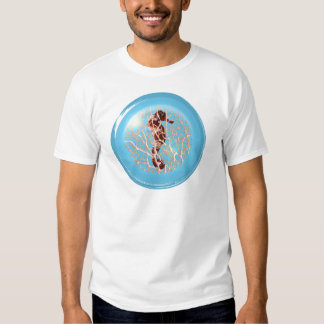 Seahorse In A Bubble T-shirt