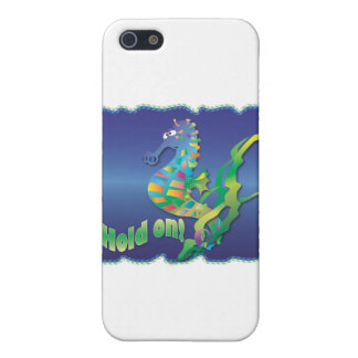 Seahorse-in blue case for iPhone 5