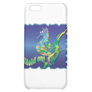 Seahorse-in blue iPhone 5C case