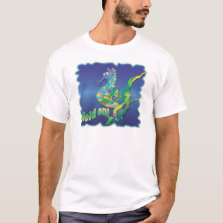 Seahorse-in blue T-Shirt
