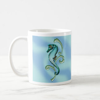 Seahorse in the Seaweed Coffee Mug