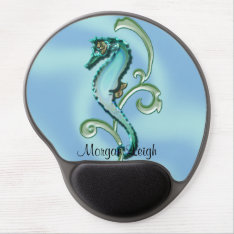 Seahorse In The Seaweed Gel Mouse Pad at Zazzle