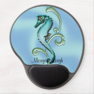Seahorse in the Seaweed Gel Mouse Pad