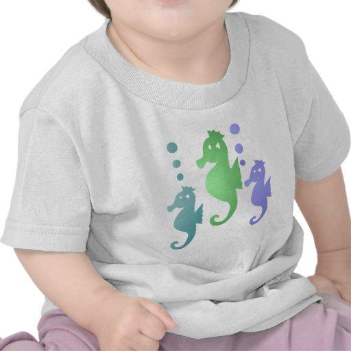 Seahorse Infant White T-shirt