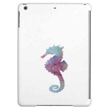 Beach Themed Seahorse iPad Air Cover