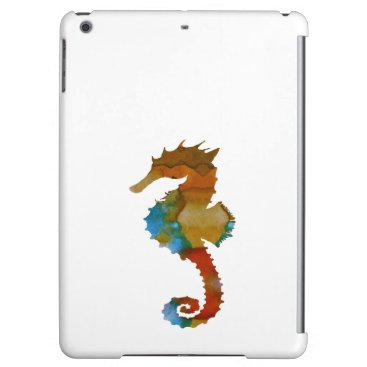 Beach Themed Seahorse iPad Air Covers