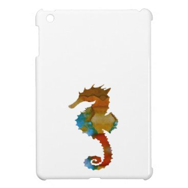 Beach Themed Seahorse iPad Mini Cases