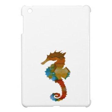 Beach Themed Seahorse iPad Mini Cases