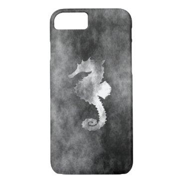 Beach Themed Seahorse iPhone 7 Case