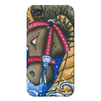 """""""Seahorse"""" Cases For iPhone 4"""