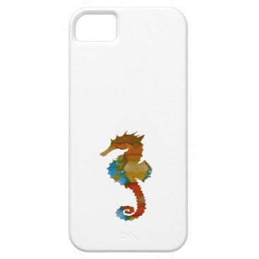 Beach Themed Seahorse iPhone SE/5/5s Case