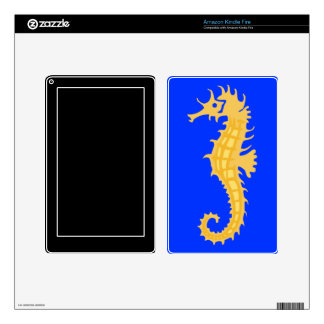 Seahorse Kindle Fire Decal