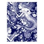 Seahorse kingdom postcard