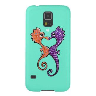 Seahorse Kiss Off-Leash Art™ Galaxy Nexus Cases