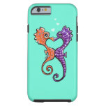 Seahorse Kiss Off-Leash Art™ Tough iPhone 6 Case