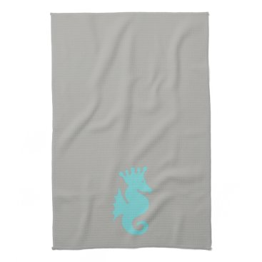 Beach Themed Seahorse Kitchen Towel