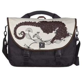 seahorse laptop messenger bag