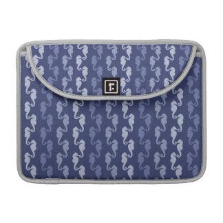 Seahorse Links Blue Sleeve For MacBooks