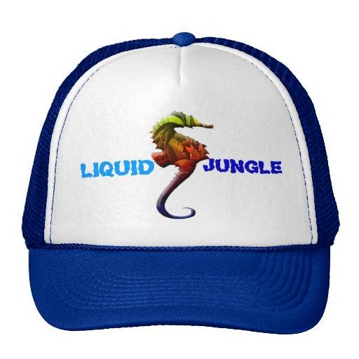 Seahorse Liquid Jungle trucker hat