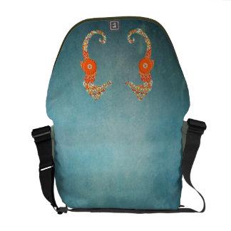 Seahorse Love Messenger Bag