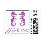 Seahorse Love Stamp