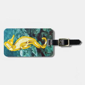 Seahorse Luggage Tag