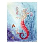 Seahorse merbabies! post cards
