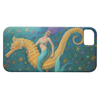 Seahorse Mermaid iPhone 5 Case