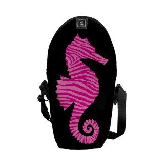 Seahorse Messenger Bag