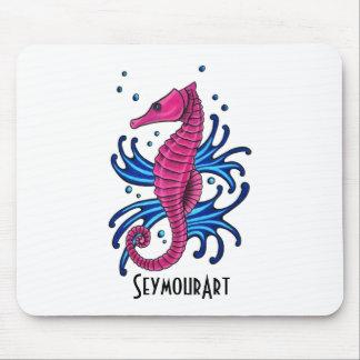 seahorse mousemats