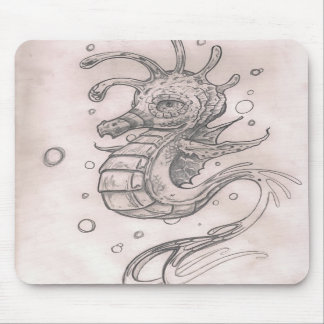 Seahorse Mousepad