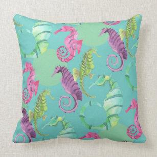 Seahorse Nursery Pillow