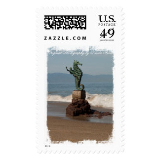 Seahorse Out of Water; Mailing Necessities Stamp