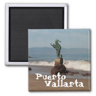 Seahorse Out of Water; Mexico Souvenir Fridge Magnet