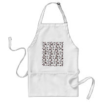 Seahorse pattern adult apron