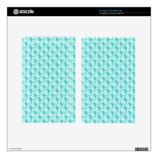 Seahorse Pattern Skins For Kindle Fire
