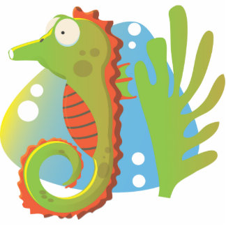 Seahorse Photo Cut Outs