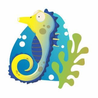 Seahorse Cut Out