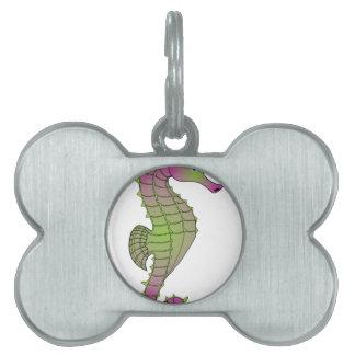 Seahorse Placas Mascota