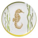 Seahorse Plates