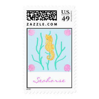 Seahorse Stamp