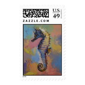 Seahorse Postage Stamps