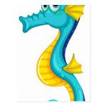 Seahorse Postcard