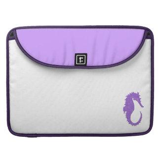 Seahorse púrpura fundas macbook pro
