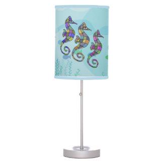 Seahorse Rainbow Table Lamp
