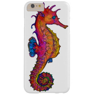 Seahorse Red Barely There iPhone 6 Plus Case