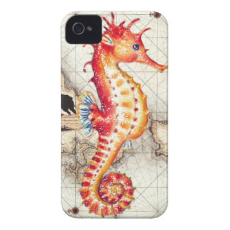 SEAHORSE RED MAP II iPhone 4 COVERS