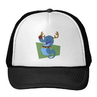 Seahorse Reindeer Trucker Hat