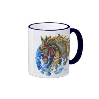 """""""Seahorse"""" Ringer Mug"""