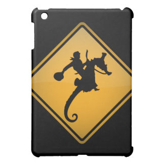 Seahorse Rodeo Warning Sign Case For The iPad Mini